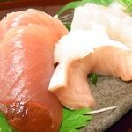 魚庵すし若 - 鰹・鰤・鯛☆♪
