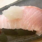 魚庵すし若 - 鰤☆♪ 超美味しい~☆♪