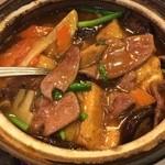 31894333 - レバー豆腐土鍋