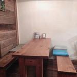 レインボーキッチン - テーブル席