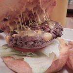 レインボーキッチン - チーズバーガー 開いてみた