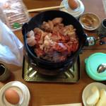 五宝平自然園 - 松茸&鶏すき焼き