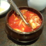 李朝園 - 食べ放題キムチ