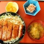 アラカルト - ソースかつ丼¥870