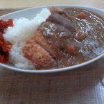 佐久平パーキングエリア(上り)軽食コーナー - カツカレー