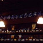 ROQUEFORT CAFE - カウンターの食器