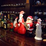 ROQUEFORT CAFE - カウンターのクリスマスの飾り