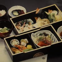 八百喜 - 割子弁当 3,000円