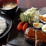 アールズコート - 料理写真:ある日のランチ(ハンバーグ) ¥850(税込)