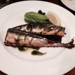 フニクラ - 秋刀魚のコンフィ