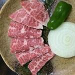 スローボート - 料理写真:佐賀県和牛の上カルビ••1200円