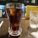 ビィビィ - 【ランチ】 ホルモンカレー \800 アイスコーヒーがついてました。