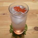 31902688 - 鉱石のソーダ水 (赤のレモンスカッシュ)