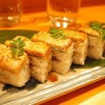 31902868 - 穴子の押し寿司