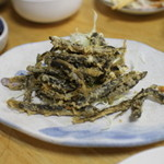 盛升 - 稚どじょうの天ぷら