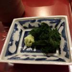 天雅 - 天茶漬けに八代海苔