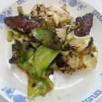 山水園 - 鹿肉の回鍋肉ハーフ