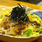 鮨 はなぜん - 野菜サラダ 500円