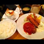 レストランやなぎ - クイーン定食