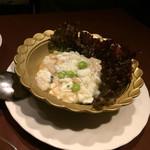 青冥 - 鮑と卵白の炒め物