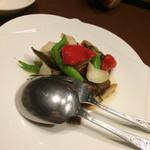 青冥 - 牛肉のオイスターソース炒め