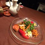 青冥 - 前菜盛り合わせ