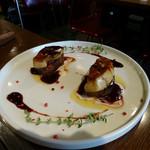 ビストロ ポチ - フォアグラ レアステーキ (これまた、絶品、フォアグラとお肉のハーモニー、また食べたい!!)