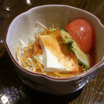 gd - 「Eランチ 回鍋肉」 1,230円 サラダ