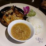 gd - 「Bランチ 鹿児島黒豚餃子」 980円