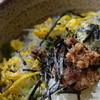 喫茶・お食事・おみやげ かもめ - 料理写真:へしこ茶漬け(へしこ茶漬定食)