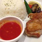 ガスト - 若鶏グリルと夏野菜のシンガポールカレー カレー以外