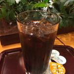 エクセルシオール カフェ - アイスコーヒーM 350円