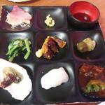 chiso-zammai - 前菜七種