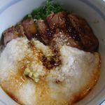 oshokujidokoroyamayoshi - 但馬牛 牛とろろ丼