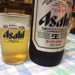 味利 - ビール大瓶