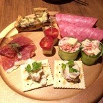 魚ダイニング Jin - 前菜盛り合わせ