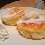 cafe a。u。n - ハニーヨーグルトパンケーキ