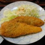 舟よし - 白身魚フライとささみしそ巻きフライ
