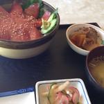 松ノ木 - マグロ赤身漬け丼