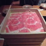 しゃぶしゃぶ温野菜 - 食べ放題のお肉