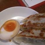 かけらーめん 一番館 - 晩酌セット煮卵バージョン