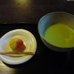茶寮 宝泉 - 抹茶セット950円