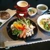 Paddy Coast - 料理写真:8種類の温野菜と国産若鶏の豆乳チーズフォンデュランチ