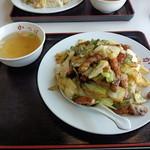 かっぱ食堂 - 2014年1月26日 肉チャーハン