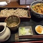 31922561 - かき揚丼セット(せいろ)