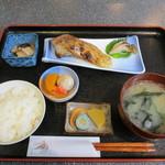 いしかわ - 本日の魚の西京味噌漬け焼定食