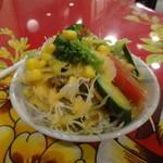 インドレストラン ガンジー   - サラダ