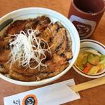 十勝豚丼 いっぴん - 豚丼ご飯少なめ  777円