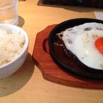 キッチン ルミエール - こだわり卵、蘭王のエッグハンバーグ¥980