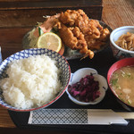 31927306 - 若鶏の唐揚げ定食